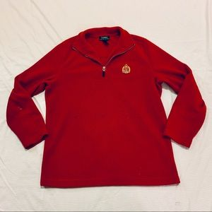 Lauren Ralph Lauren Fleece 1/4 ZIP Pullover